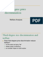 3rd Price Discrimination