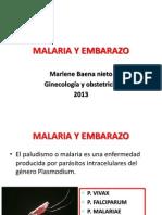 Malaria y Embarazo