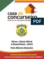 Dicas Excel Word Powerpt PRF Marcio Hunecke
