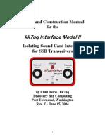 Kk7uq Interface Model II