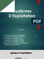 Les Systeme D_exploitation