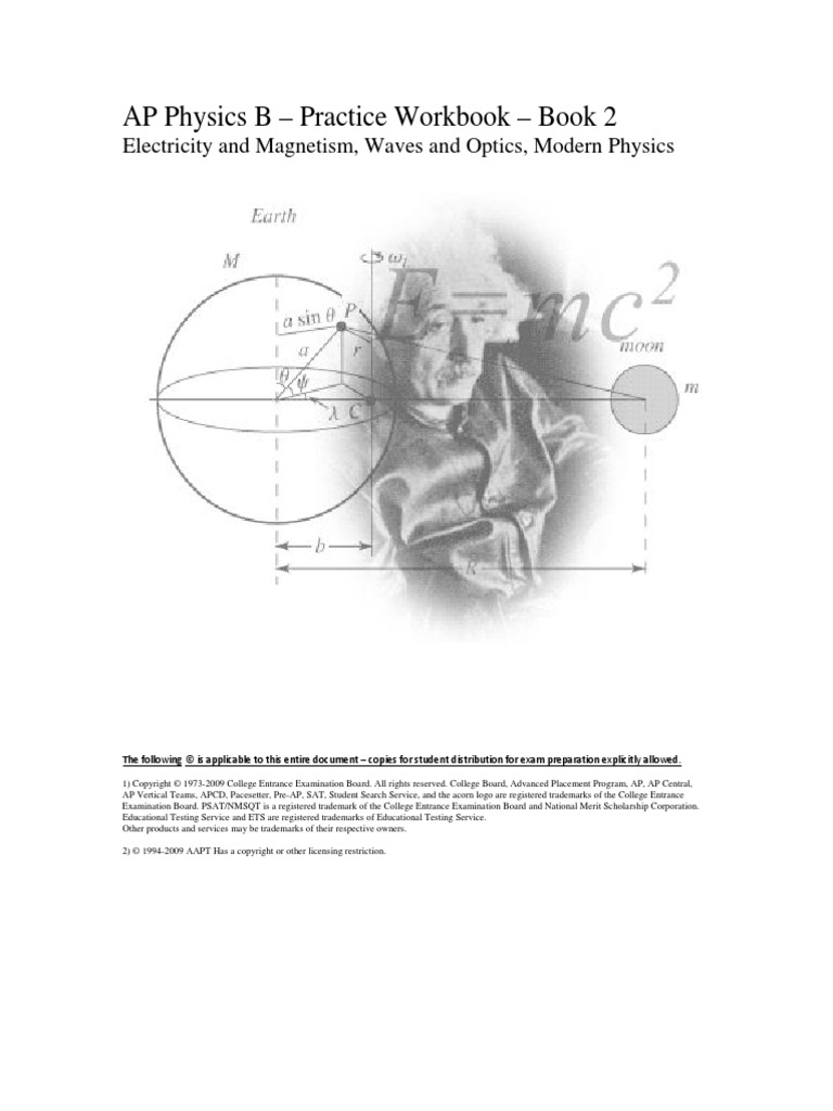 AP Physics B 2013 Practice Workbook-2 | Electric Charge | Capacitor