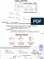 Smith 4th Ed Chap 9 Alcohols, Ethers and Epoxides (Fall 2013)