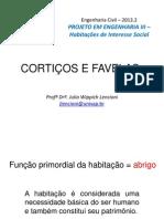 ProjIII Aula 2 Corti Os e Favelas
