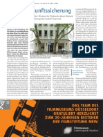 2011-02 Filmecho Digitale Zukunftssicherung