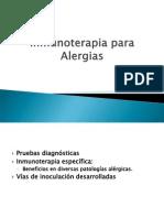 Inmunoterapia Para Alergias