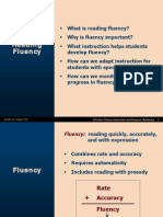 reading fluency powerpoint