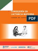 Consejería en Lactancia Materna-Curso de Capacitación
