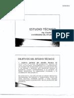 estudio tecnic formulacion