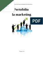 Portofoliu Marketing