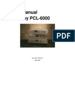 Moseley PCL6000 Manual