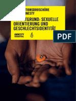 INFORMATIONSBROSCHÜRE 'FLUCHTGRUND