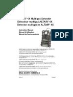 Altair 4x Manual - En FR ES