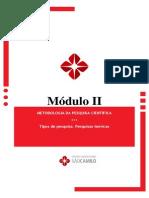 Metodologia Da Pesquisa Científica - Módulo II
