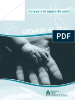 Cuidando Al Bebé Guia Equipo de Salud