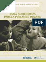 Guía Alimentaria Para La Pblación Infantil- Equipo de Salud