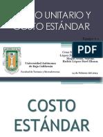 Expo Costo Estandar y Cosot Unitario