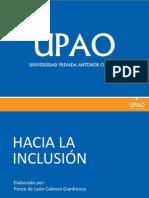 Historia de La Educ. Inclusiva