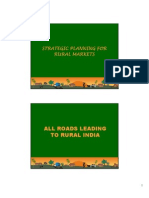 Strategic Planning for Rural Markets