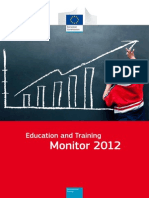 Education and Training Monitor 2012