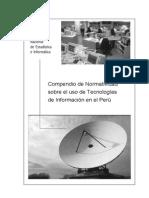 Normatividad Del Uso de Tecnologia en El Peru