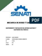 Inspeccionar y Diagnosticar El Sistema de Confort Del Vehicul