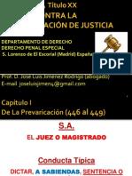 Sesión 28 Delitos Contra La Administración de Justicia