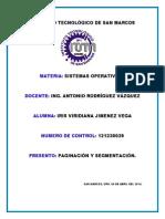 Paginacion y Segmentacion