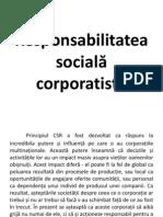 CSR Introducere