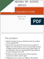 Higher Education Abhishek Lohia IIFT Delhi