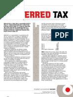 t Deferred Tax