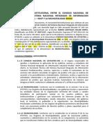 Modelo Convenio Con Municipalidades