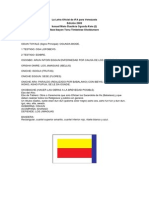 La Letra Oficial de IFA Para Venezuela 2009