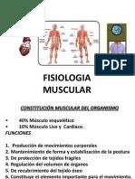 FISIOLOGIA MUSCULARII