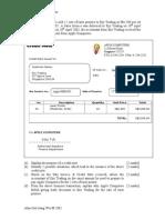 POA Worksheet