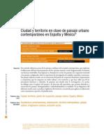 Ciudad y Territorio en Clave de Paisaje Urbano España y Mexico
