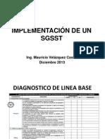 Implementación de Un SGSST
