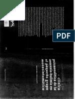 Massimo Recalcati - Clínica Psicoanalítica de La Anorexia - Bulimia en El Pequeño Grupo Monosintomático