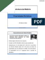 Aula 3 EM - Propriedades Periodicas