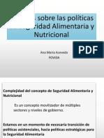 Apuntes Sobre Las Politicas de Seguridad Alimentaria y Nutricional Ana Maria Acevedo