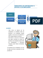 Norma Internacional de Contabilidad 19 Beneficios a Los Empleados