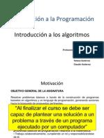 Unidad 2 Introducción a Los Algoritmos