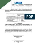 Certificacion de Estudios Primaria