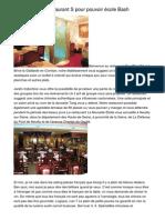 Comment Pour Déterminer Un Restaurant Pour Une Organisation Déjeuner.20140505.020937