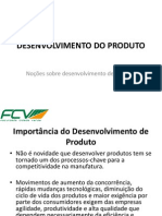 1 - Noções Sobre Desenvolvimento Do Produto