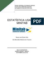 Estatística Usando Minitab