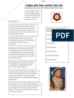 Tudors Fact File Assessment