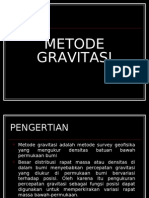 Metode Gravitasi