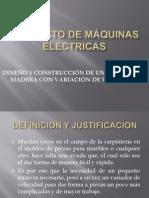 Proyecto de Máquinas Eléctricas