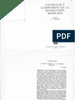 Caudillos y Campesinos en La Revolucion Mexicana - Cap 1